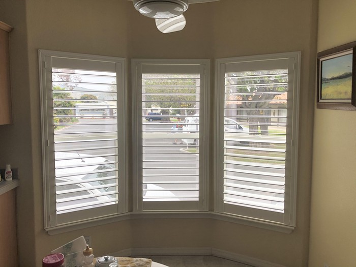 Bay Windows Norman Shutters on Baywood Ln in Simi Valley, CA