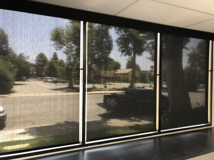 Commercial project- Norman roller shades - cordless
