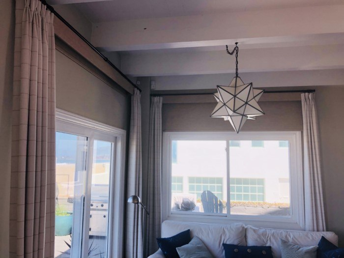 Motorized Roller Shades With Drapes in Simi Valley, CA
